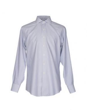 Pубашка BROOKS BROTHERS. Цвет: светло-серый