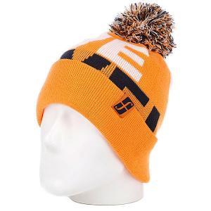 Шапка с помпоном мужская  Fm M We Lve Form Bne Agent Orange Forum. Цвет: оранжевый