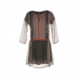 Платье Salers из вуали с принтом RENE DERHY. Цвет: этнический рисунок