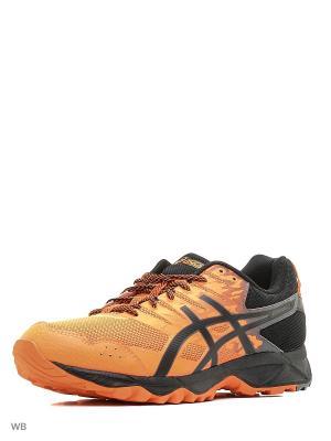 Спортивная обувь GEL-SONOMA 3 ASICS. Цвет: оранжевый, черный