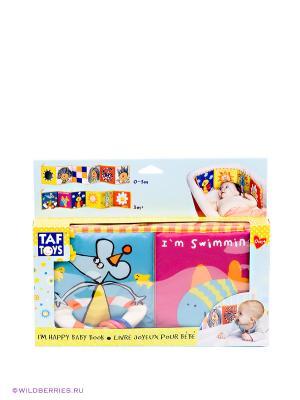 Развивающая книжка Taf Toys, номер 10675 TOYS. Цвет: розовый, голубой