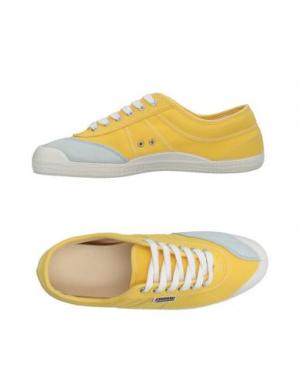 Низкие кеды и кроссовки KAWASAKI. Цвет: желтый