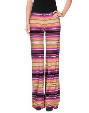 Повседневные брюки FISICO-CRISTINA FERRARI. Цвет: фиолетовый
