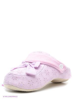 Тапочки De Fonseca. Цвет: сиреневый, розовый