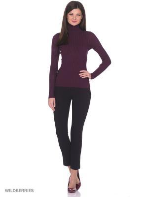 Вязаный свитер SMART&FANCY. Цвет: фиолетовый