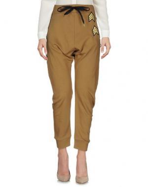 Повседневные брюки TILL.DA. Цвет: верблюжий