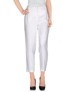 Повседневные брюки KUBERA 108. Цвет: белый