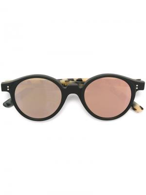 Солнцезащитные очки Oscar Kyme. Цвет: чёрный