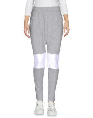 Повседневные брюки L.A. SAINTS. Цвет: светло-серый