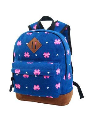 Рюкзак Stelz. Цвет: синий, коричневый, малиновый