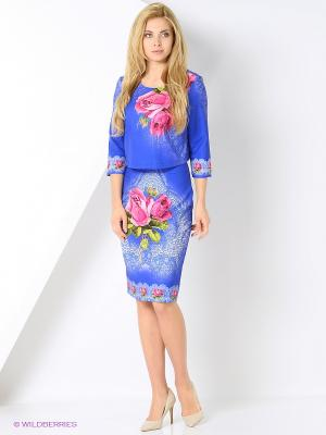 Комплект одежды TOPSANDTOPS. Цвет: синий