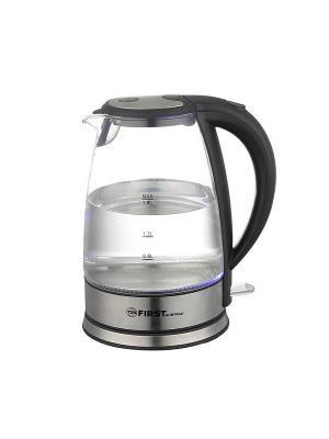 Чайник 5406-9 FIRST. Цвет: черный, прозрачный