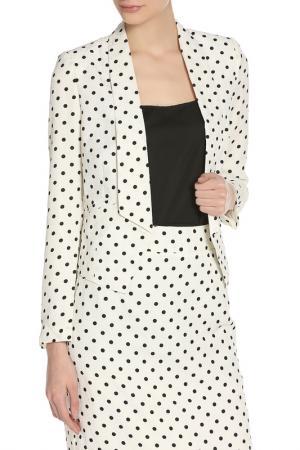 Жакет PAPER DOLLS. Цвет: cream, black