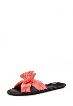 Тапочки Petit Pas. Цвет: коралловый