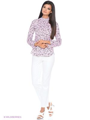 Блузка HomeLike. Цвет: бледно-розовый