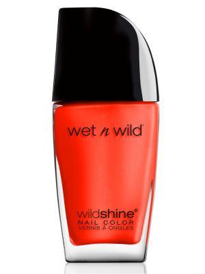 Лак Для Ногтей Wild Shine Nail Color E490 heatwave Wet n. Цвет: оранжевый