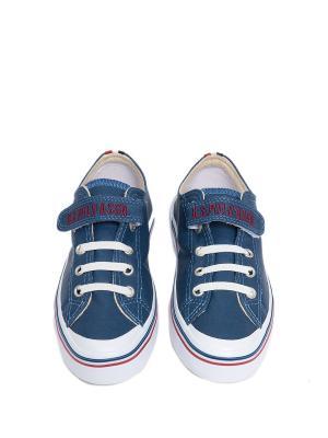 Кеды U.S. Polo Assn.. Цвет: индиго, синий