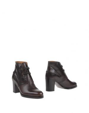 Полусапоги и высокие ботинки VERONIQUE BRANQUINHO. Цвет: баклажанный