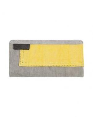 Бумажник VOLUM. Цвет: желтый