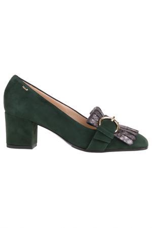 Туфли norma j baker. Цвет: темно-зеленый