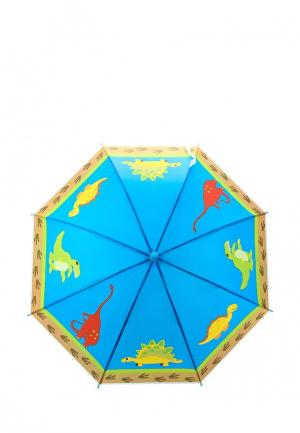 Зонт-трость Incity. Цвет: голубой