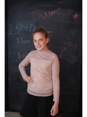 Блузка ZEBRA KIDS. Цвет: кремовый