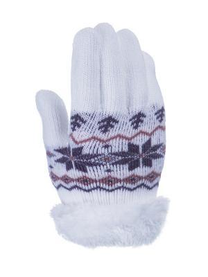 Перчатки детские Cascatto. Цвет: белый