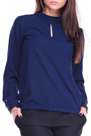 Блуза Laura Bettini. Цвет: синий