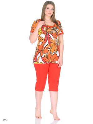 Комплект NADIA ARMAN. Цвет: красный, оранжевый