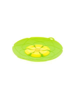 Крышка силиконовая Elff Ceramics. Цвет: зеленый