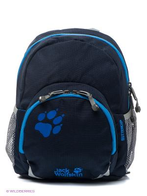 Рюкзак BUTTERCUP Jack Wolfskin. Цвет: темно-синий, голубой