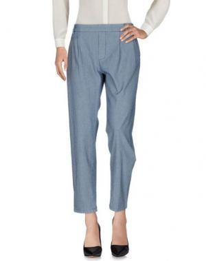 Повседневные брюки LOCAL APPAREL. Цвет: темно-синий