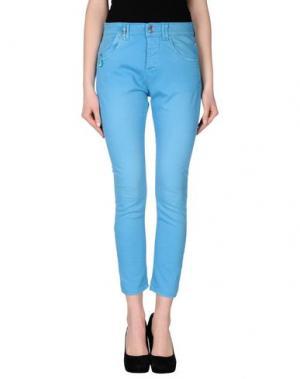 Джинсовые брюки JCOLOR. Цвет: лазурный