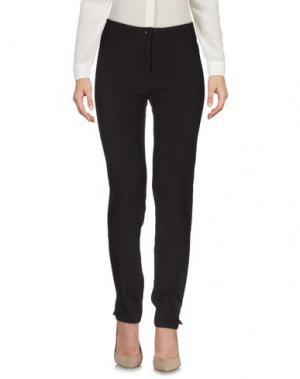 Повседневные брюки MARCELLO SANGIORGI. Цвет: темно-коричневый