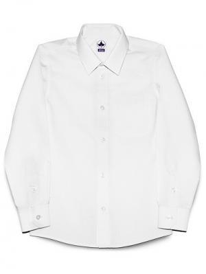 Рубашка классическая INTERA. Цвет: белый
