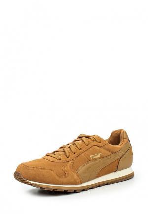 Кроссовки Puma. Цвет: коричневый
