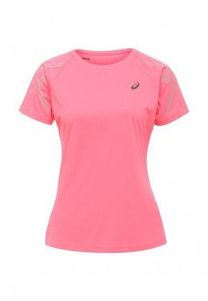 Футболка спортивная ASICS. Цвет: розовый