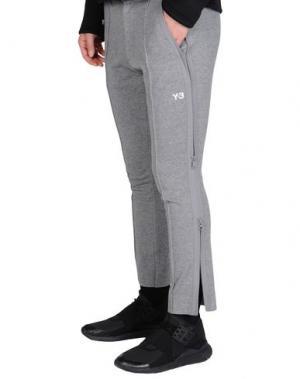 Повседневные брюки Y-3. Цвет: серый
