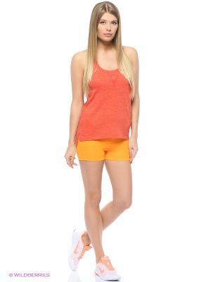 Шорты NP CL 3 SHORT Nike. Цвет: оранжевый