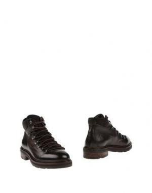 Полусапоги и высокие ботинки CORVARI. Цвет: баклажанный