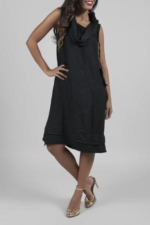 Платье ANABELLE. Цвет: черный
