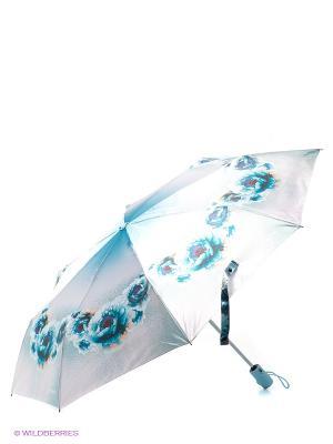 Зонт Eleganzza. Цвет: серебристый, голубой