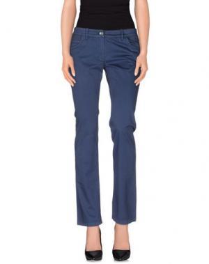 Повседневные брюки HISTORIC RESEARCH. Цвет: темно-синий