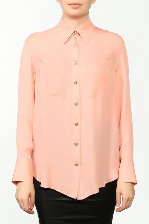 Блуза Balmain. Цвет: розовый