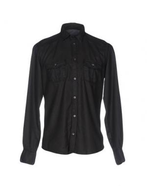 Джинсовая рубашка ANTONY MORATO. Цвет: черный