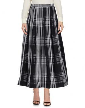 Длинная юбка MACRÍ. Цвет: черный