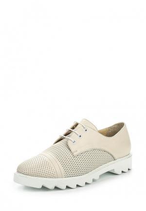 Ботинки D.Moro. Цвет: бежевый