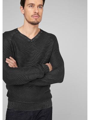 Пуловер S.OLIVER. Цвет: антрацитовый