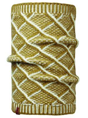 Бандана 2016-17 LEISURE COLLECTION COLLAR PLAID TOBACO Buff. Цвет: белый, горчичный, желтый