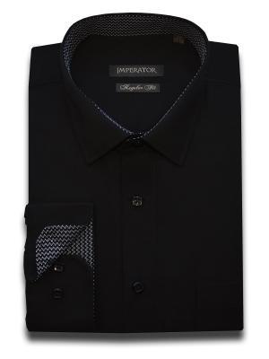 Рубашка Imperator. Цвет: черный